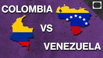 Why Venezuela and Colombia have a hot blood between them?