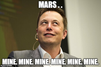 After His Car, Musk To Fire His House To Mars