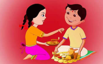 How is Bhai Dooj different from Rakshabandhan?