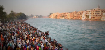 Why do Indian Worship Rivers?