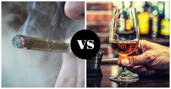 Sex and Weed vs Sex and Alcohol