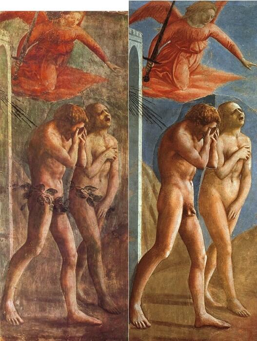 Masaccio-TheExpulsionOfAdamAndEveFromEden-Restoration-1499265481.jpg