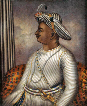 Tipu Sultan as a political figure