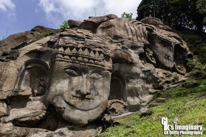 Unakoti - The Mythical Legend of the Shaivite Statues