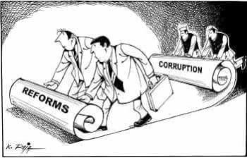 Indian corruption: reasons behind it