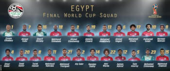 Egypt FIFA World Cup 2018 - Russia Squad, Mo Salah Included