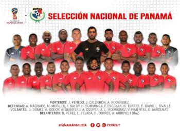 Panama FIFA World Cup 2018 - Russia Squad